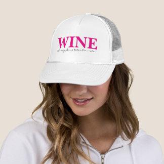 Wine the Way Jesus Takes His Water Trucker Hat