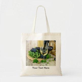 Wine Theme Mini Tote Bags
