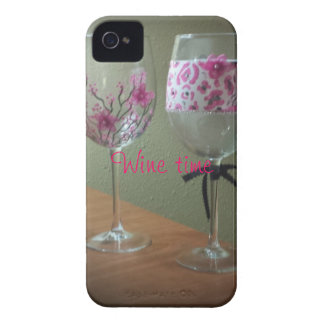 Wine time iPhone case