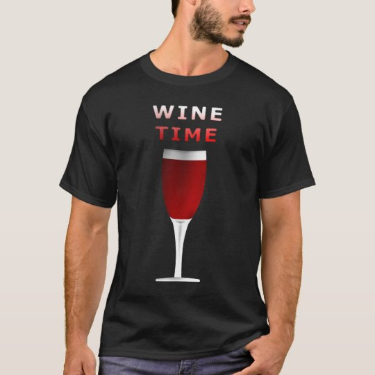 Wine Time Men's T Shirt