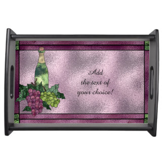 Wine Time Serving Tray