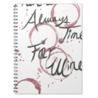 Wine Time Towel Notebook