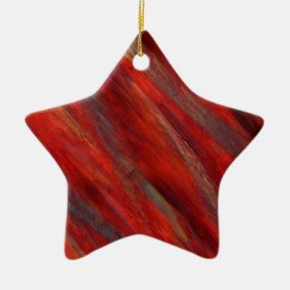 Wine under the microscope - Cabernet Sauvignon Christmas Ornament