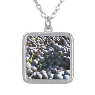 Wine Vineyard Grapes Pendant