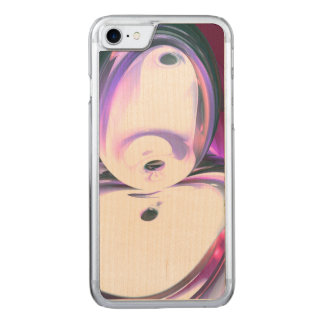 Wine Visions Abstract Carved iPhone 7 Case