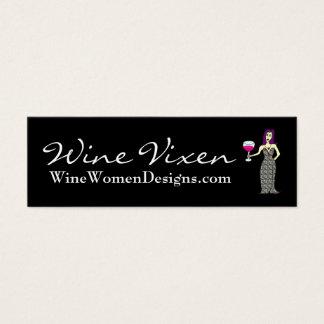 Wine Vixen, WineWomenDesigns.com Profile Card