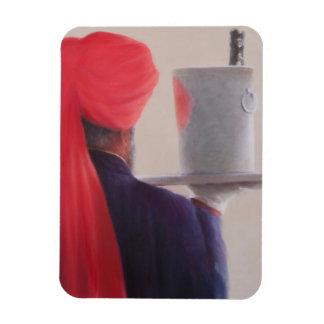 Wine Waiter Jaipur 2012 Rectangular Photo Magnet