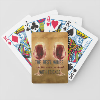 Wine with Friends Deck of Cards