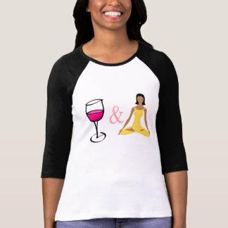 Wine, Women and Yoga T-Shirt