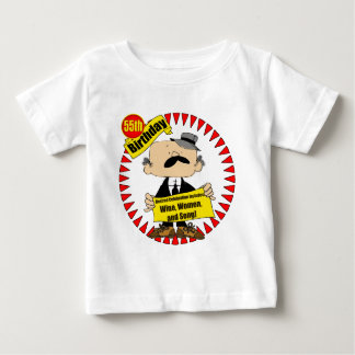 Wine Women Song 55th Birthday Gifts Baby T-Shirt