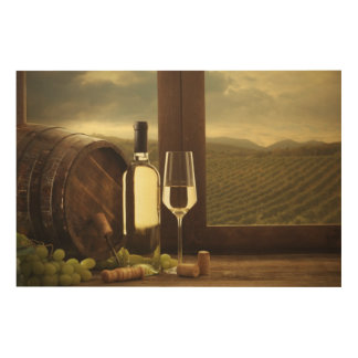 Wine Wood Wall Decor