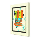 Wine Works Wonders Stretched Canvas Prints