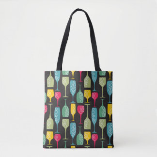 Wineglass Tote Bag