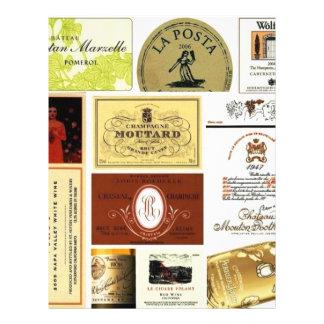 winelabel-inspiration custom flyer