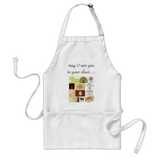 winelabel-inspiration, may I sew you to your sh... Standard Apron
