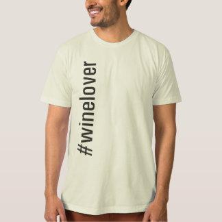 #winelover Vertical T-Shirt