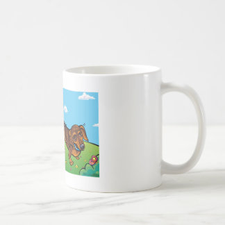 Winer Dogs on a sunny day Mug