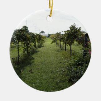 Winery Christmas Ornament