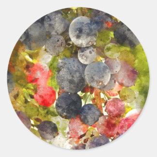 Winery or Vineyard Wedding Envelope Seal