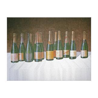 Winescape Champagne 2003 2 Canvas Print