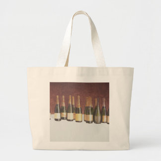 Winescape Champagne 2003 Large Tote Bag