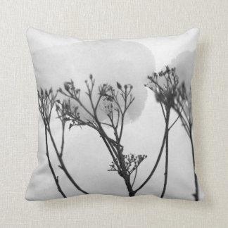 Winetr Plants  Snow Throw Cushion