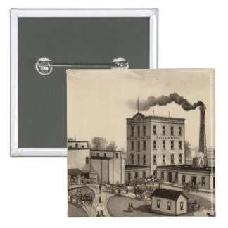 Winfield Roller Mills, Blissand Wood, Kansas 15 Cm Square Badge