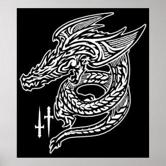 Wing Dragon Print