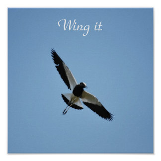 Wing it posters
