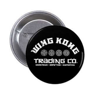 wing kong trading co. big trouble in little china 6 cm round badge