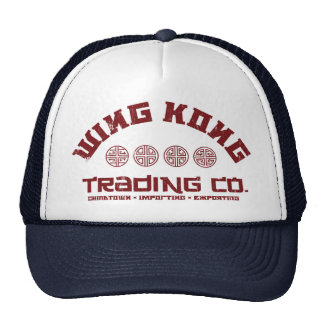 wing kong trading co. big trouble in little china cap