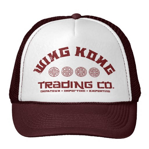wing kong trading co. big trouble in little china mesh hats