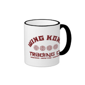 wing kong trading co. big trouble in little china ringer coffee mug