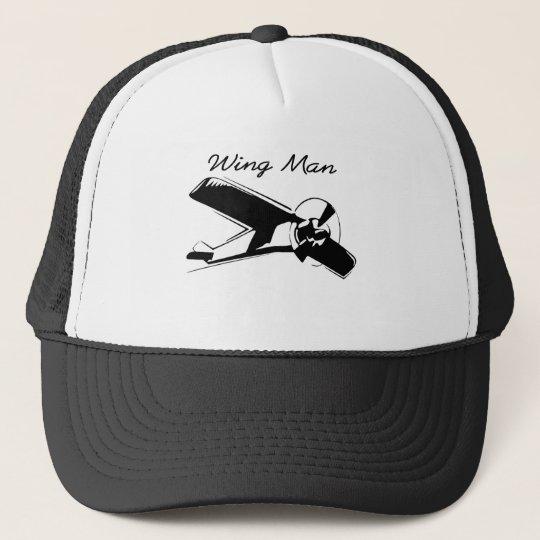 wing man is the best man cap