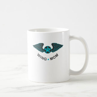Wing Mom Wings Basic White Mug