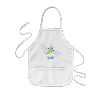 Wing-Nutz™_Dragonfly (Skeeter) _ personalized Kids Apron