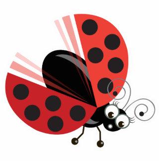 Wing-Nutz™_Ladybug (Dotty)_ sweet  & fun Photo Sculpture Badge