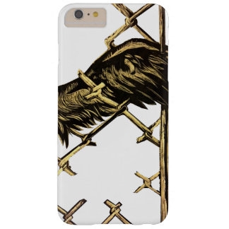 Wing of a bird trapped in a fence barely there iPhone 6 plus case