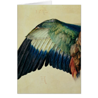 Wing of a Blue Roller, 1512 Card