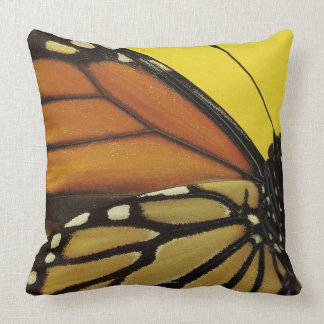 Wing of a butterfly cushion