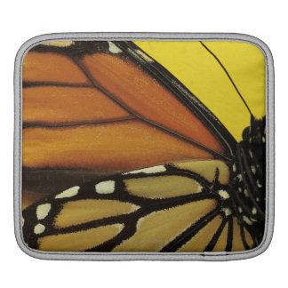 Wing of a butterfly iPad sleeve