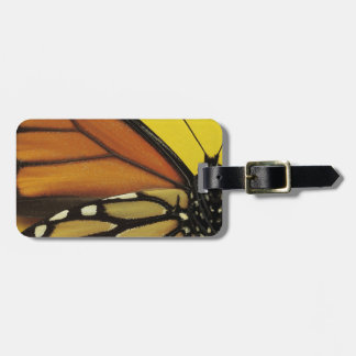 Wing of a butterfly luggage tag