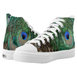 Wing of the Peacock High Tops