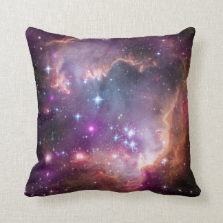 """""""Wing"""" of the Small Magellanic Cloud Astronomy Throw Pillow"""