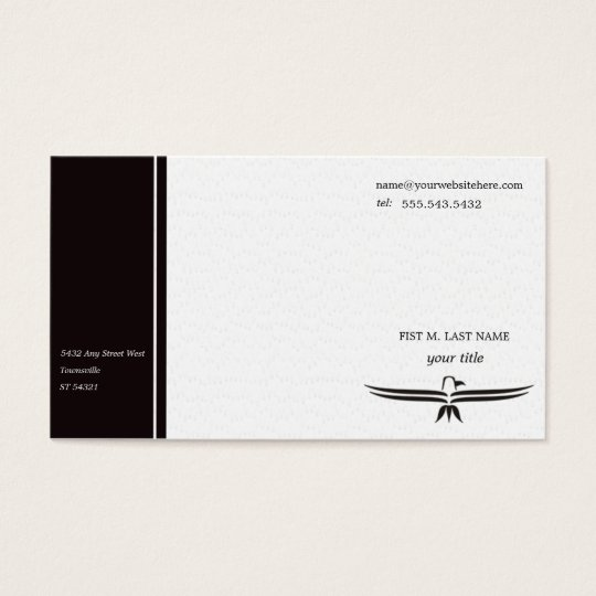 Wing Span - Professional  Business Card