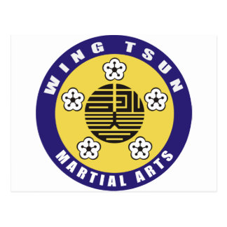 WING TSUN –  MARTIAL ARTS POSTKARTEN