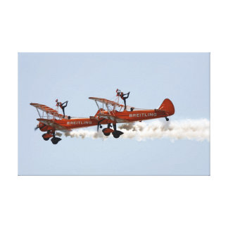 Wing Walkers aerobatic display team Canvas Print