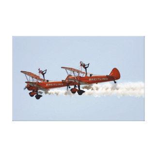 Wing Walkers aerobatic display team Canvas Prints