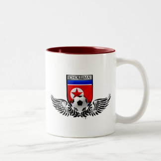 Winged badge of Chollima DPRK tees and gifts Two-Tone Mug