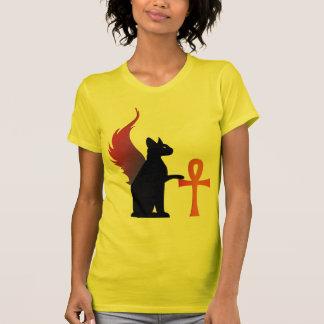 Winged Bast & Ankh T-shirts
